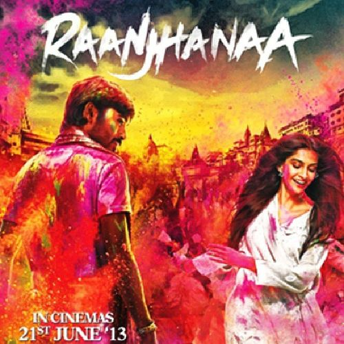 Raanjhanaa 's movie of love, drama, dream, politics & social problems. Awesome chamistry Dhanush with @sonamakapoorfc @sonamkapoor SonamKapoor .