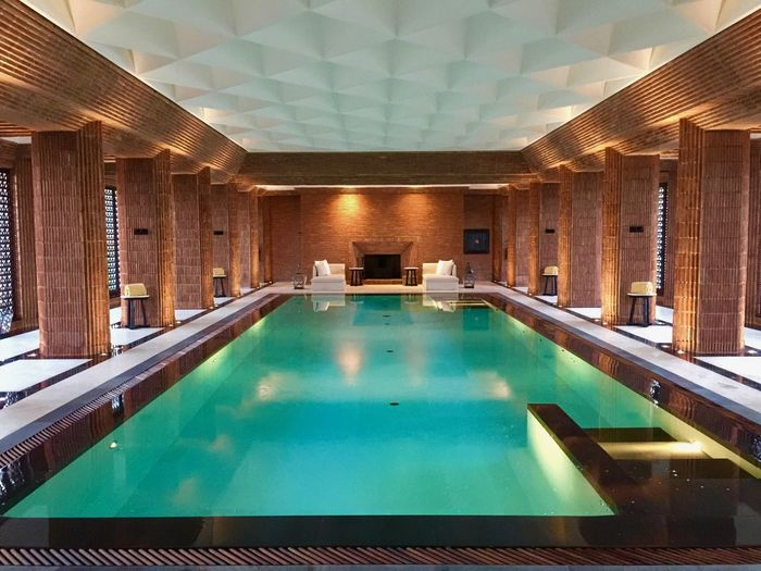 Architecture Built Structure Day Health Club Illuminated Indoors  Lifestlye Luxury Luxury Living No People Pool Table Relaxation Swimming Pool Water