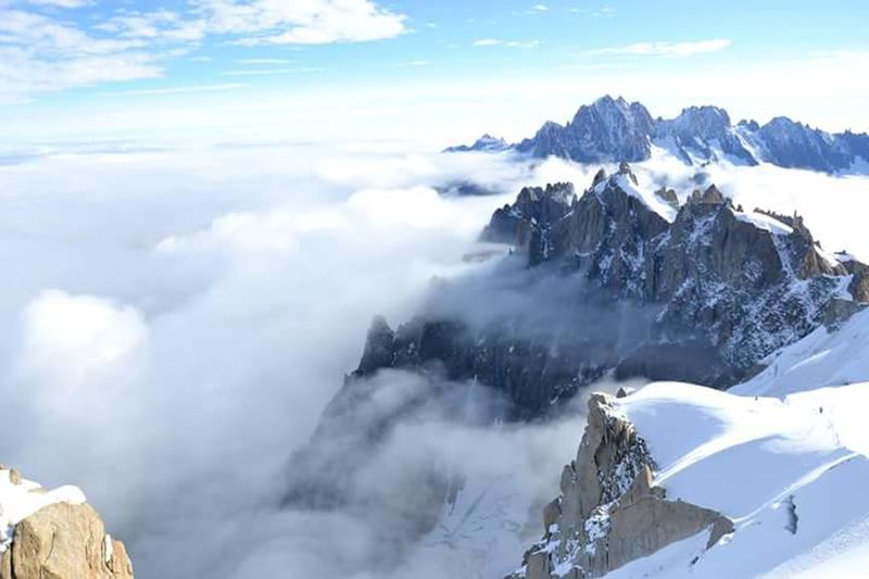 Mountains Aiguilledumidi Moutain View Moutain Top Nofilter How Do You See Climate Change? EyeEm Best Shots Snow Enjoying Life AlpesFrancaises Skylovers Go Higher