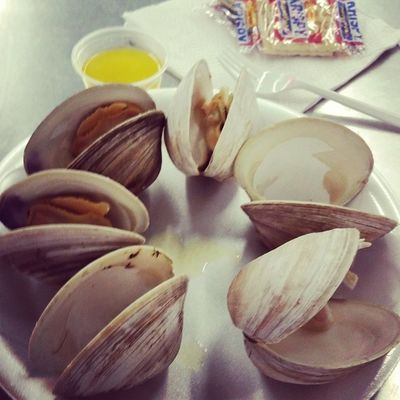Had to get them! Clams Lunchtime
