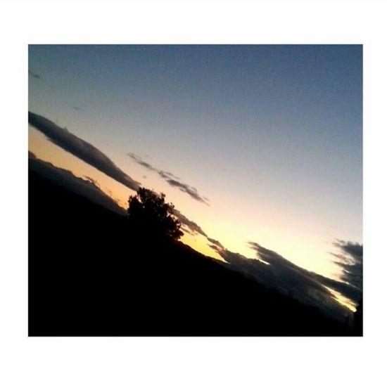 Opoul.soir. ⛅️⭐️🌙