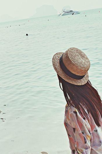 Enjoying Life Traveling Sea That's Me
