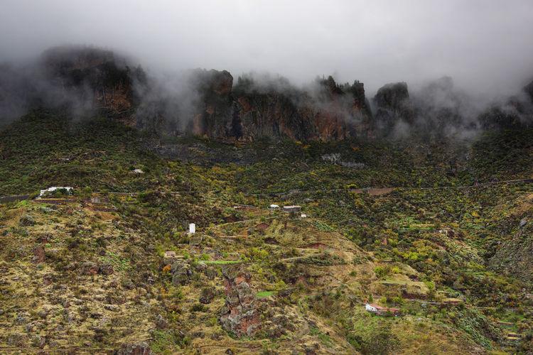 High Angle View Landscape At Pilancones National Park