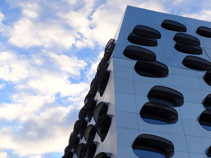 Architecture Architecture Architecture_collection Building Exterior Built Structure Cloud - Sky Kontrast Sky Differential Focus Fuji X30 Fuji Close-up Fine Art Photograhy Different Perspective EyeEm Best Shots EyeEmNewHere Minimalist Architecture