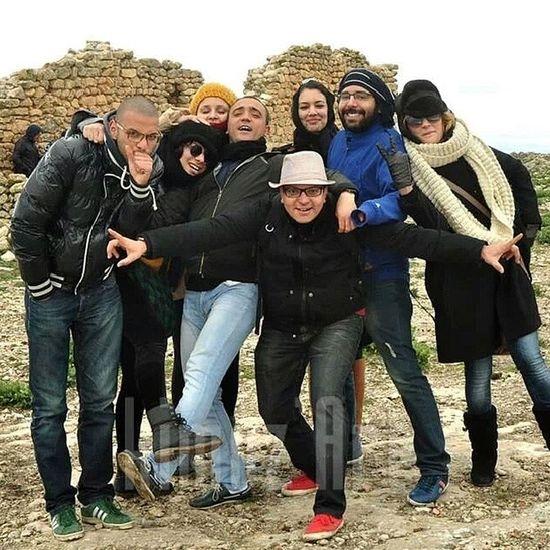 With friends Tabledejugurtha Kef Rencontreculturelle Jugurtha friends instafriend happy bahja tunisia instagramtn