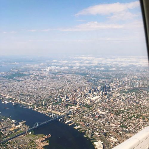 Philidelphia Architecture City Sky Cityscape High Angle View Aerial View Day Building