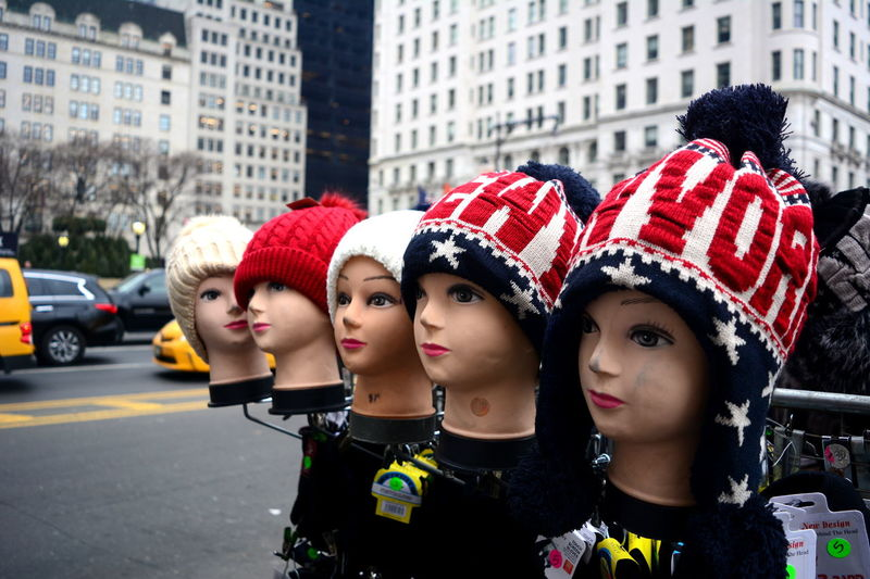 The sights those eyes have seen.... City Life City Street City Street Photography EyeEm New York City City Day Heads Headshot Manican Manikin New York City Photos Outdoors Real People Ski Hat Street Street Photo Street Photography Streetphotography Togetherness Winter Cap Young Adult