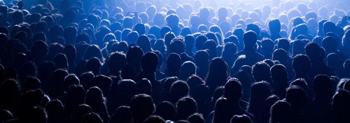 Concert Crowd Dancing Hands Lights Music Parov Stelar People Shadows Silhouette