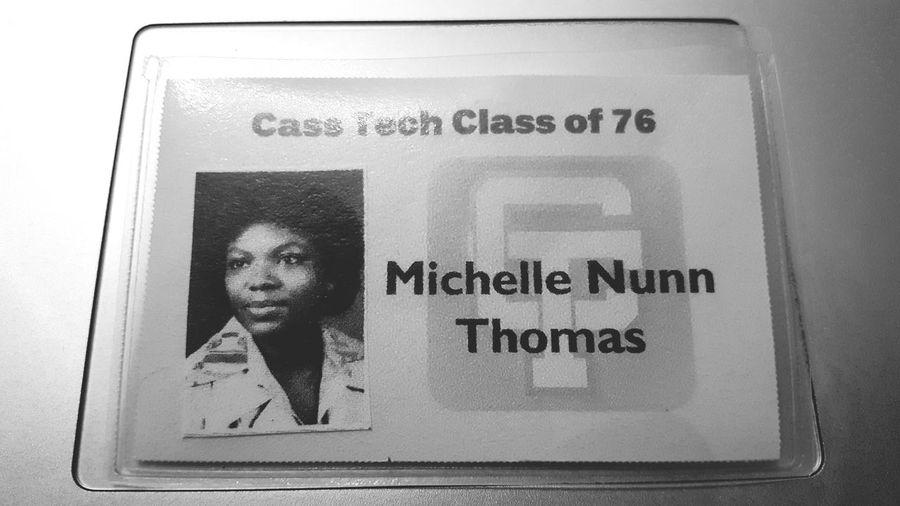 It's my mom's 40th class reunion weekend💚 Class Reunion Cass Tech Detroit