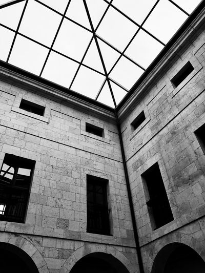 The Architect - 2017 EyeEm Awards Architecture Built Structure Window Low Angle View SPAIN CameraVanTravel Photooftheday No People Day Outdoors City Sky