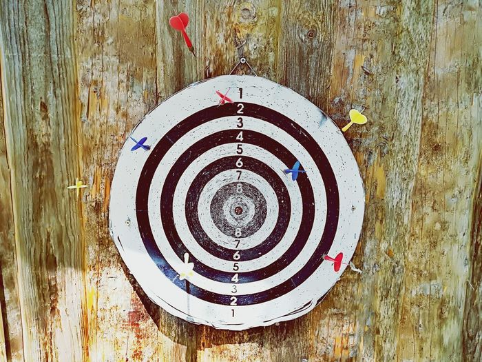Target No People Target No Hit Hitting No Success Concentric Backgrounds Full Frame Circle Pattern Close-up Wooden