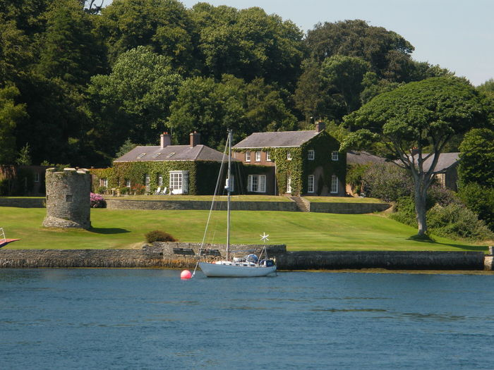 Architecture Ards Peninsula Building Exterior Built Structure Day Grass Nature Nautical Vessel No People Northern Ireland Outdoors Pedal Boat Sky Strangford Strangford Lough Tree Water Waterfront