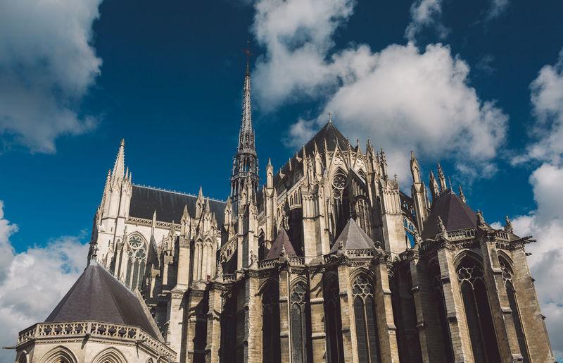 Historical church against sky