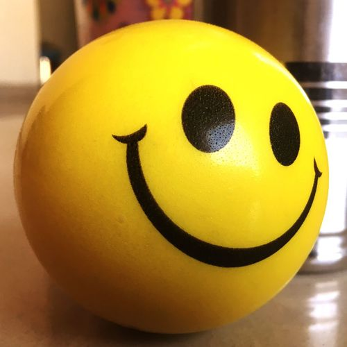 Happy Ball Game Happy Ball Yellow Close-up Smiley Face Smile Smile ✌ Smile❤