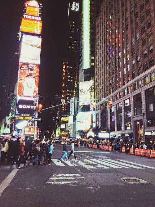 USAtrip USA New York New York City Building TimesSquare Times Square NYC Timesquarenyc Night Nightphotography Trip Photo