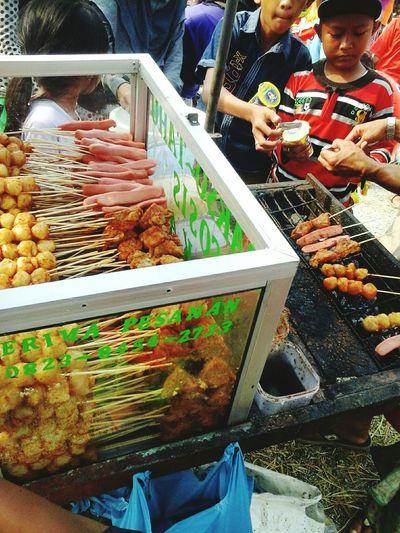 bakso,sosis,tahu bakar:) Yummy Food Loveit
