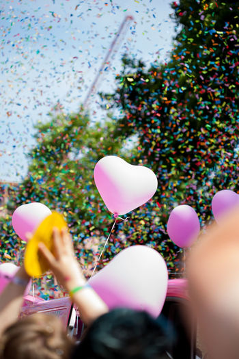 Christopher Street Day 2017 in Cologne. Party at Neumarkt Balloon Bubble Wand Celebration Close-up Csd Cologne 2017 Enjoyment Fragility Freshness Fun Helium Balloon Human Body Part Human Hand Leisure Activity Lifestyles Men Multi Colored One Person People Pride Real People Women Be. Ready.