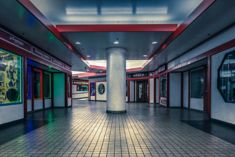 Architecture Illuminated Built Structure No People Architectural Column Indoors  Flooring Ceiling Tiled Floor Mall Little Japan