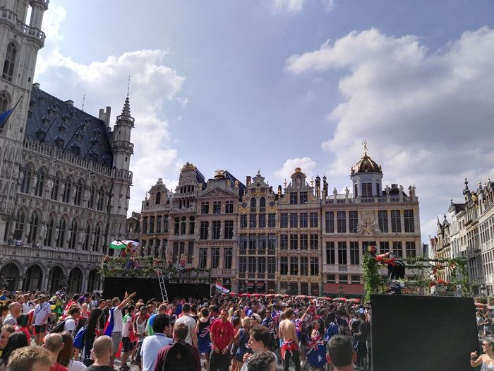Contest Entry music brings us together Tomorrowland Party On The Grand Place of Brussels July2016