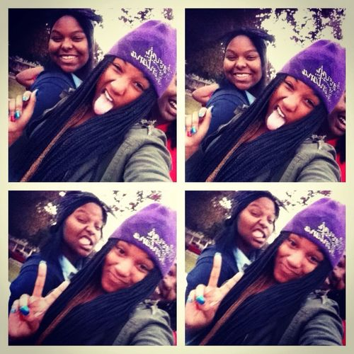 Ion Want This Pic On My Bestie Page And Not On Mine! Me And My Bestie Mala