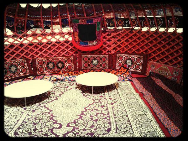 Turkmenistan tent Turkmen
