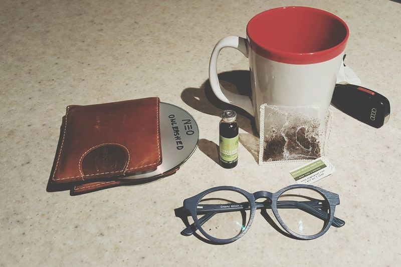 Sunday Morning Tools Essentials Glasses Tea Music Audi Early Wake Up Day Off Drink Peace Quiet Picoftheday Followme GuramsEye Life Day Love