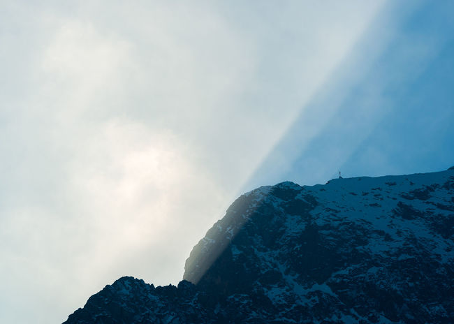 Ray of light Alps Beauty In Nature Day Italy Mountain Nature No People Outdoors Rays Of Light Scenics Sky Sunset Tranquil Scene Tranquility