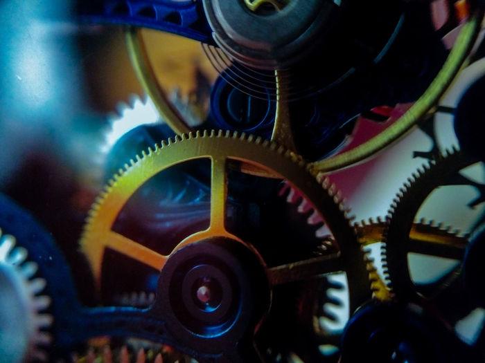 Timepiece Watch Mechanical Gears Skeleton Macro Art Invictawatch