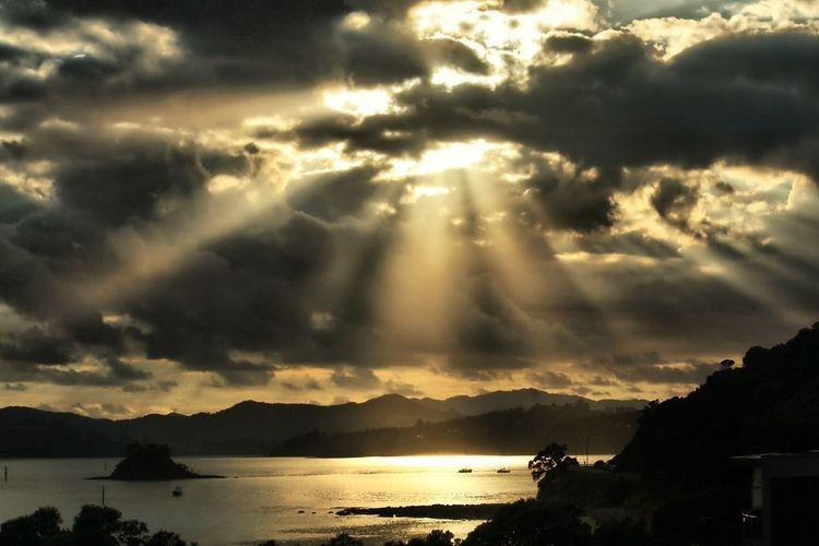 Light will find a way Reflection Sunrise Sun Rays Eye4photography