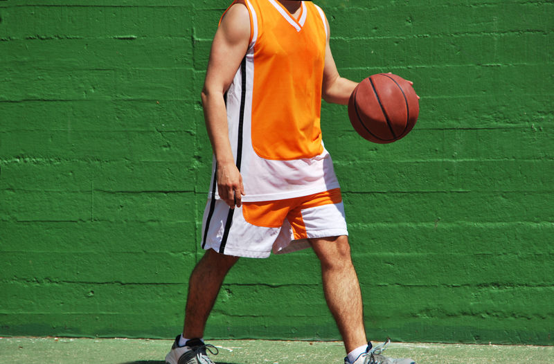 Basketball Athlete Ball Basket Ball Basketball - Ball Basketball - Sport Basketball Player Clothing Court Day Human Limb Leisure Activity Lifestyles One Person Playing Real People Skill  Sport Sports Sportsman Standing