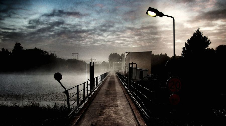 Moviescenes Bridge Foggy Morning Walking Around Sweden Misty Morning Power Station Nordic Light EyeEm Best Shots