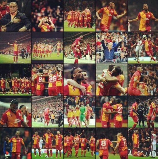 GalataSaray Sampiyon GALATASARAY We Made It! Galatasaray Is CHAMPION! Güney