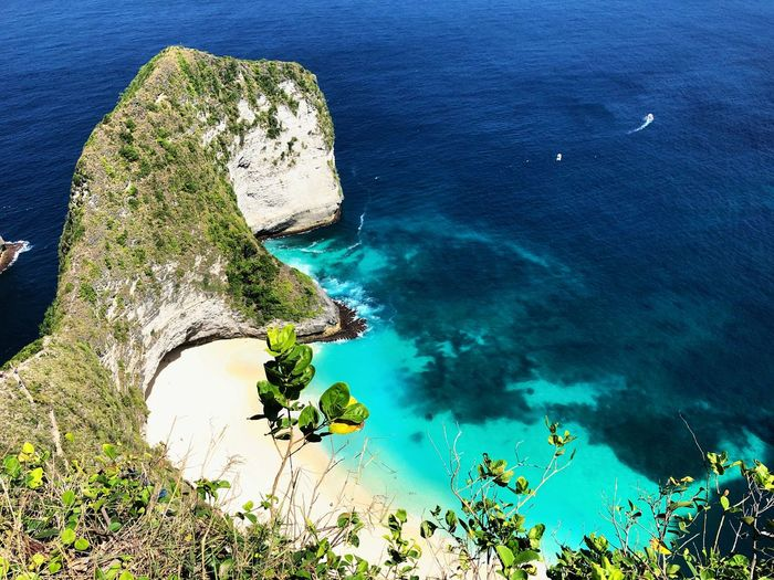 The best thing in bali Water Sea Beauty In Nature High Angle View Nature Blue Day Land