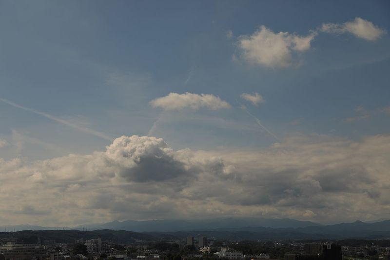 今日の雲 Cloud - Sky Beauty In Nature Autumnsky