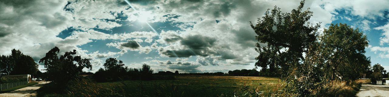 I love clouds! Cloudporn Panorama Landscape
