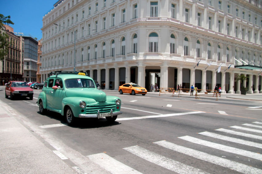Been There. Cuba Collection Havana, Cuba Architecture Building Exterior Built Structure Car City Cuban Cars Cuban Life Day Mint No People Outdoors Street Transportation