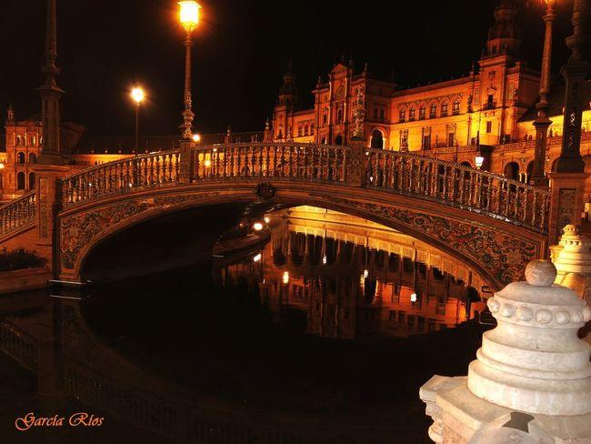 Sevilla Cityes At Night Plaza De España España🇪🇸 Manu García SPAIN Sevilla Spain Manu