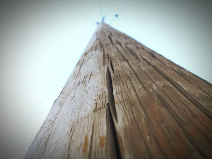 Wood - Material Low Angle View Close-up Plank Wooden Sky Full Frame No People Extreme Close-up Vibrant Color Surface Level Weathered