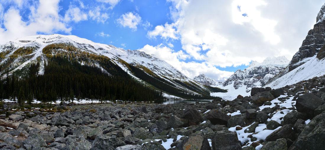 Consolation Lakes Banff National Park  Banff Alberta Banff  Alberta Canada Panoramic Photography Panoramic View Panoramic Landscape