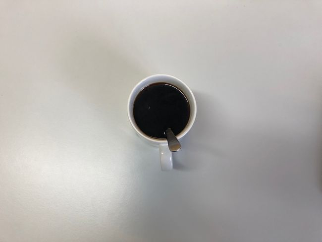 A break from the energy drinks. I've got the #coffee machine on at work. Coffee