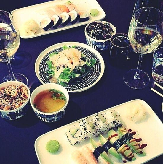 Yummy♡ Suchi Food Dinner Date
