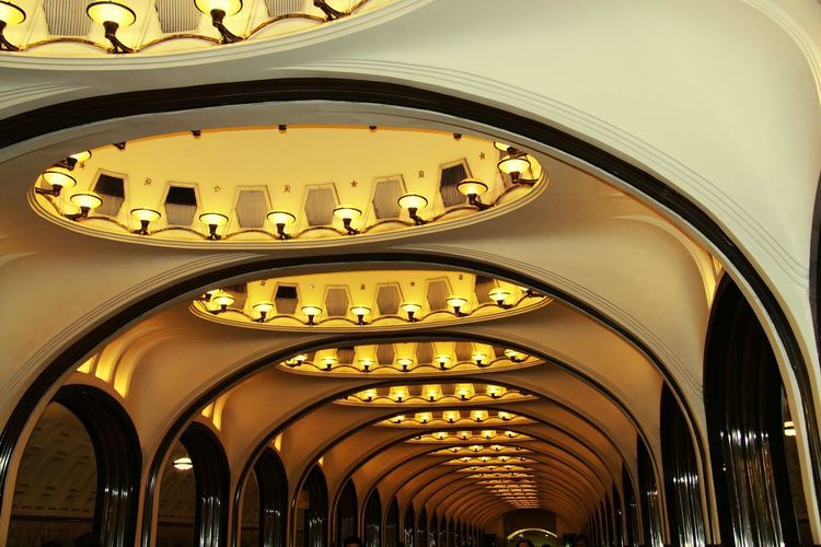 Metro Station Moscow, Москва Russia Amazing Places Like A Museum Pictures Passionefoto Canon Oldstyle