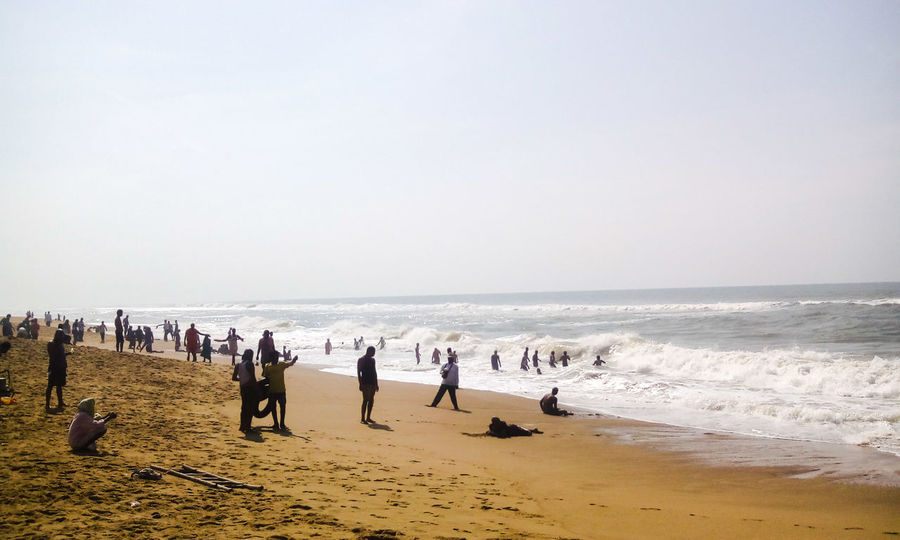 Beach Photography Puri Beach Beach View Beach Bay Of Bengal People Enjoying People Hidden Gems  Amazing View Beachphotography Seashore Odisha India Beachlovers