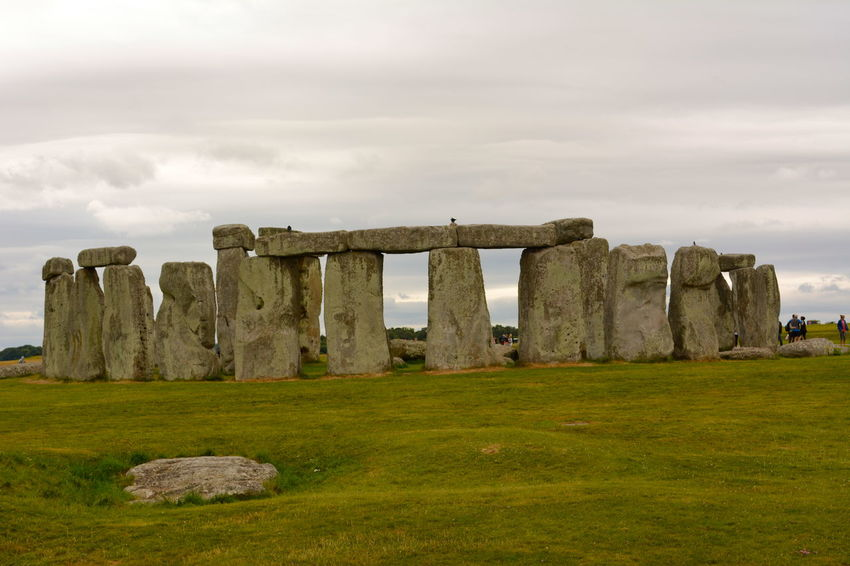 Stonehenge - mysterious standing stones and iconic image of Great Britain Ancient Ancient History Ancient Ruins Brooding Sky Cloudy Day Cloudy Sky England, UK Great Britain Mysterious Landscape Mysterious Place Mystical Place Standing Stones Stonehenge Stonehenge And Sky