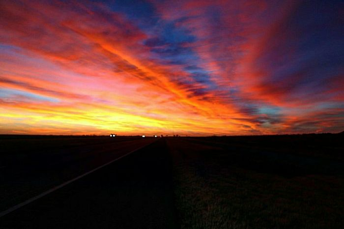 Landscape Sunset Beauty In Nature Nature Scenics Cloud - Sky Tranquility Tranquil Scene No People Sky Outdoors Nature Happiness Photography Photography Themes Outdoor Pictures Photooftheday My Year My View Westtexasskies Westtexas Smile Sunset_collection Contrasts Multi Colored Beautiful Nature Traveling Home For The Holidays Finding New Frontiers