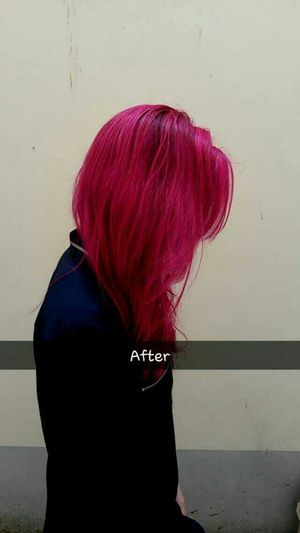 Mypinkhair Truth Inlove♥ Pink Cerise