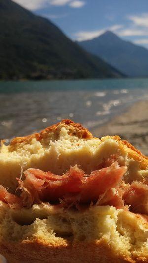 EyeEmNewHere Picnic Food Nature Outdoors Novate Mezzola Lombardia Panino panino al prosciutto Sandwich