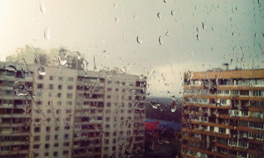 ново-переделкино чоботовская улица Дождь на улице