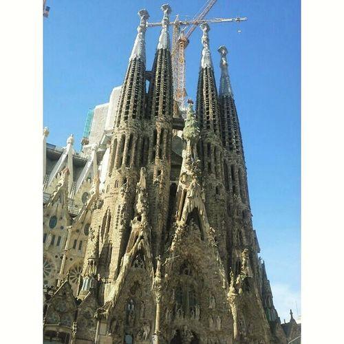 Sagrada Familia 🔝😍❤ España Barcelona Barcelona2k15 Sagradafamilia Gaudi Barcellona Spagna Gita Viaje Maravilla Top Solocosebelle Viaggio Travel Squaready Ig Igers Iphonesia