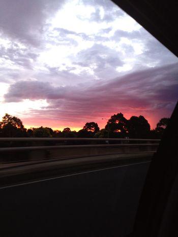 Sky Clouds Sunset Beautiful Pretty Nature Melbourne